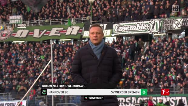 Bundesliga: Hannover 96 - SV Werder Bremen | DAZN Highlights