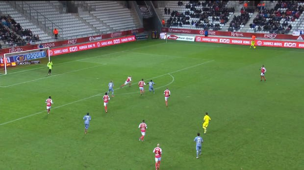 Ligue 1 Round 15: Reims 2 - 2 Rennes