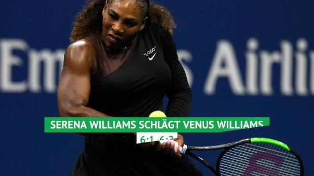 US Open: Serena gewinnt Schwesternduell