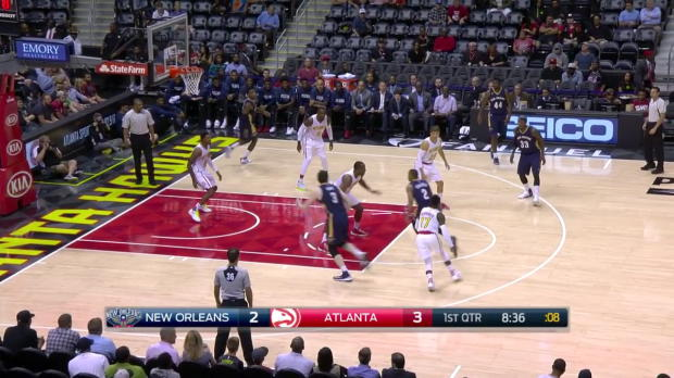 WSC: Dennis Schroeder Highlights vs. Pelicans