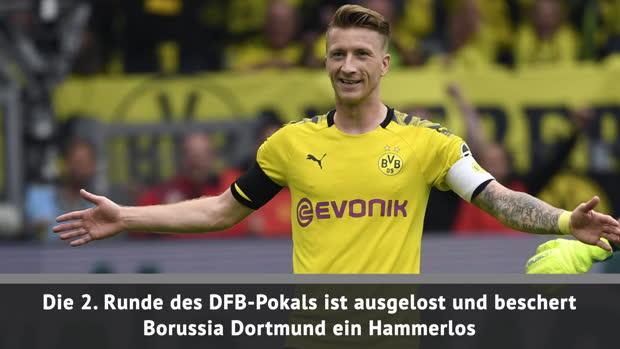 Pokal: Hammer-Los für BVB, FCB muss nach Bochum