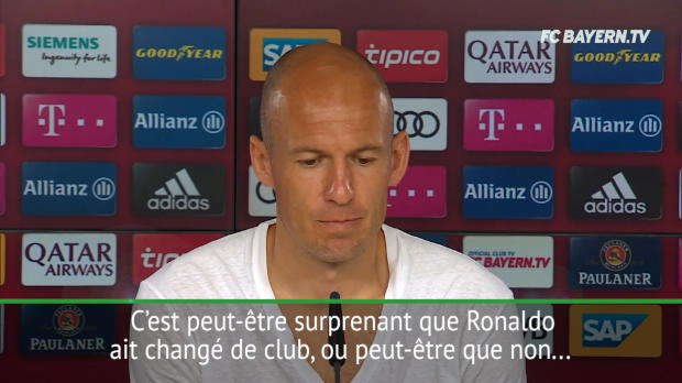 Transferts - Robben - 'Ronaldo n'a plus rien à prouver'