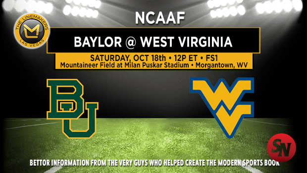 Baylor Bears @ West Virginia Mountaineers