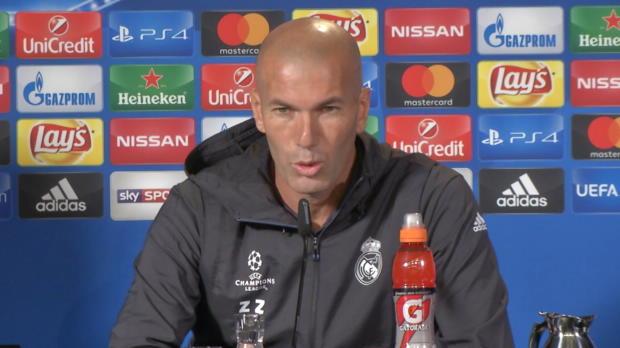 """Zidane: Diskussion um Ronaldo """"vergessen"""""""