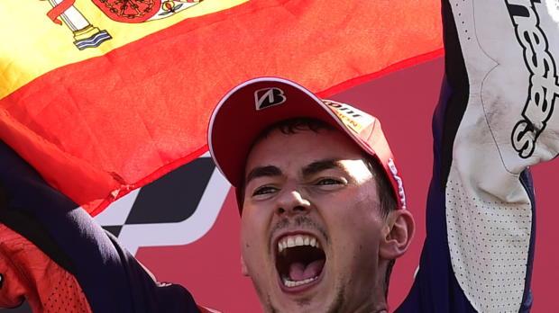 Moto GP - Jorge Lorenzo, tricampeón
