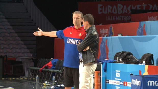 Basket : FIBA - Bleus - Collet reconduit jusqu'en 2019 ?