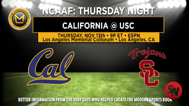California Golden Bears @ USC Trojans
