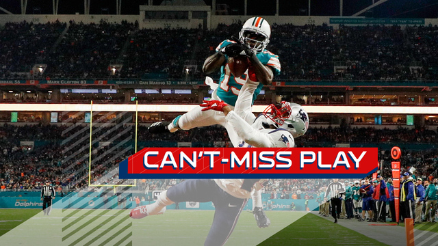 Can't-Miss Play: 5-foot-7 Jakeem Grant beats Malcolm Butler on jump-ball TD