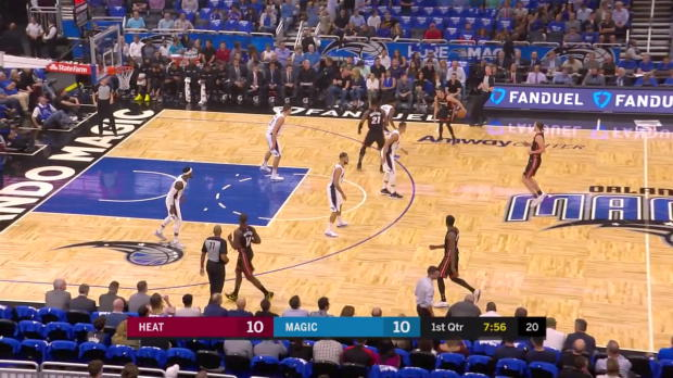 WSC: Highlights: Hassan Whiteside (26 points) vs. the Magic, 10/18/2017