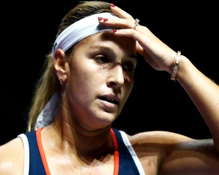 تنس: البطولة الختامية للموسم: سيبولكوفا سعيدة بهزم هاليب رغم الضغوط
