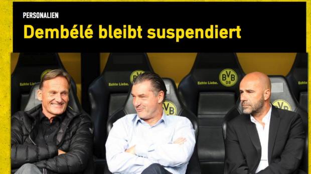 BVB hält an Dembele-Suspendierung fest