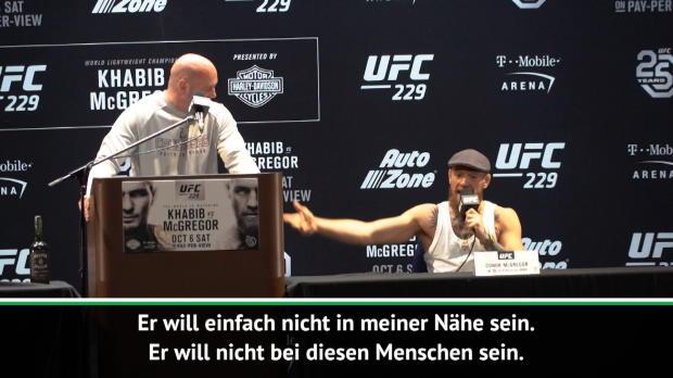 Nach Khabib-Abgang: McGregor mit Schimpftirade