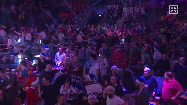 PDC World Championship, Tag 1: Smith - Evans
