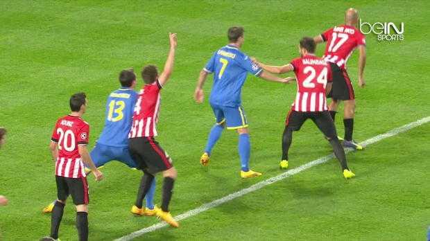 LdC : BATE Borisov 2-1 Athletic Bilbao