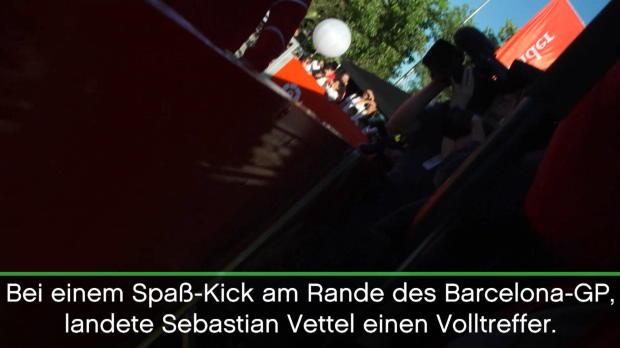 F1: Sebastian Vettel landet einen Volltreffer