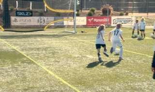 Westfield Matildas star Kyah Simon is inspiring young girls through football clinics.