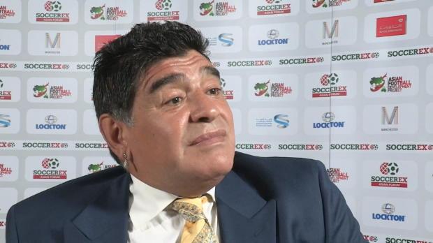 "Maradona: ""Blatter will nur Champagner!"""
