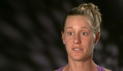 Riske Interview: WTA Stanford QF