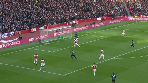 Premier League: Arsenal - Man United   DAZN Highlights