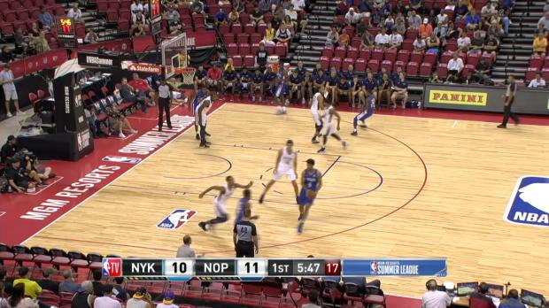 GAME RECAP: Knicks 102, Pelicans 83