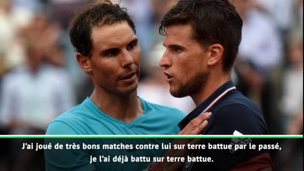 """Basket : Roland-Garros - Thiem - """"Je ne vais pas me mettre trop de pression"""""""