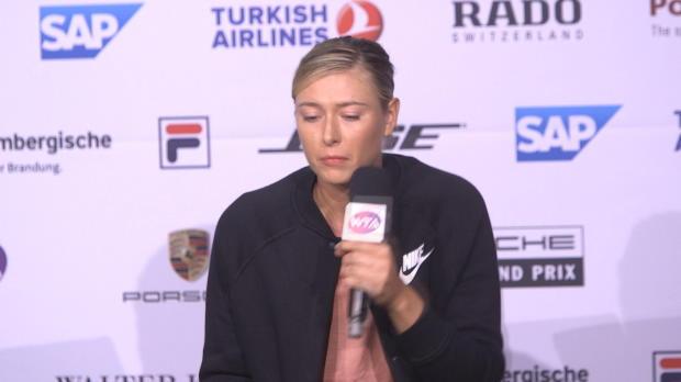 "Stuttgart: Sharapova: Mehr Tests ""großartig"""