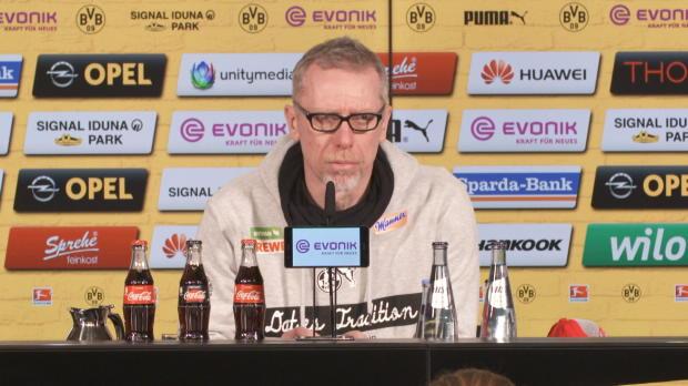 Stöger: Dortmund war total überlegen