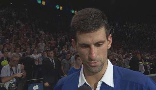 Djokovic Interview: ATP Paris SF