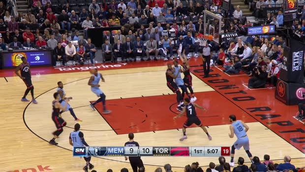 GAME RECAP: Raptors 119, Grizzlies 90