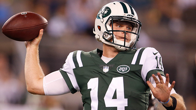 Breaking down New York Jets rookie quarterback Sam Darnold's preseason debut | Baldy's Breakdown