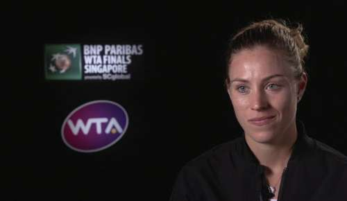 Kerber Interview: WTA Singapore RR