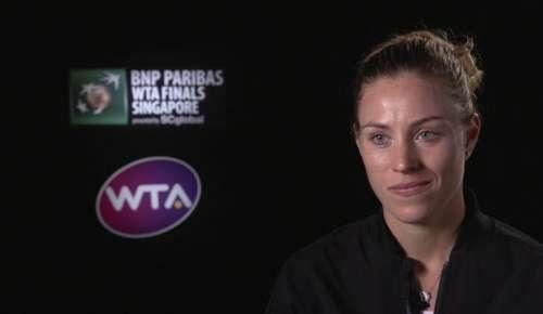 Kerber Interview: WTA Singapore RR