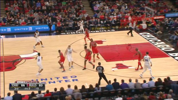 GAME RECAP: Bulls 123, Hornets 120