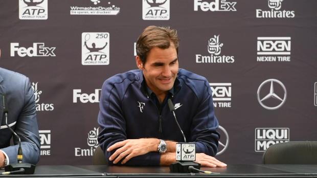 Stuttgart: Federer: Schwieriges Jahr für mich