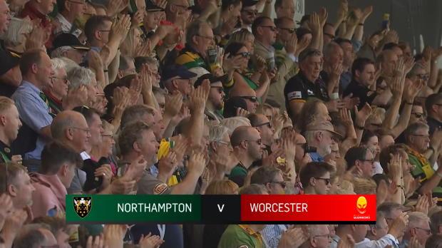 Aviva Premiership : Aviva Premiership - Match Highlights - Northampton Saints v Worcester Warriors