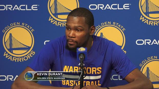 """Kevin Durant: """"Tenemos que mejorar"""""""