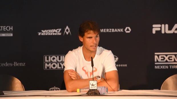 Stuttgart: Nadal über psychische Belastung