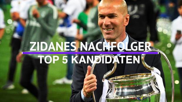 Zidane-Nachfolge bei Real: Die Top 5 Kandidaten