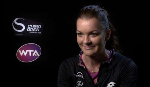 Radwanska Interview: WTA Beijing 3R