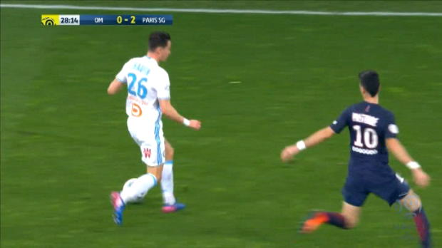 كرة قدم: الدوري الفرنسي: مخالفة جديدة من ماركو فيراتي