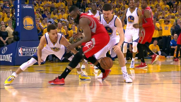 Basket : NBA - Play-Offs - Golden State sur le fil face aux Rockets