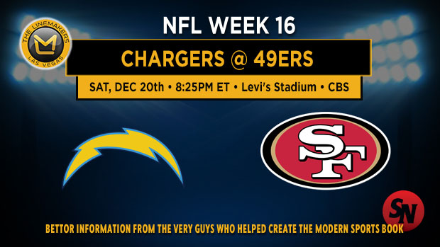 San Diego Chargers @ San Francisco 49ers