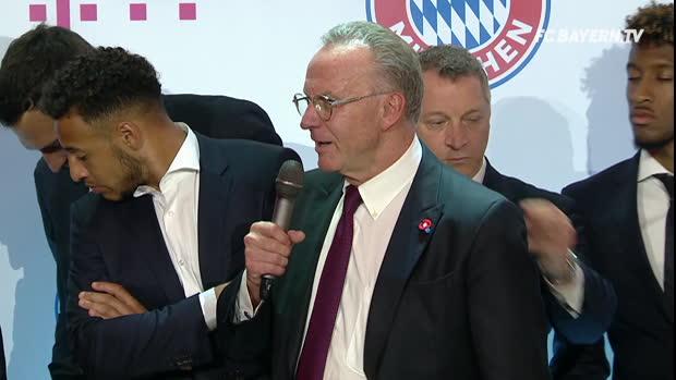 Rummenigge vergisst Kovac bei Dankesrede