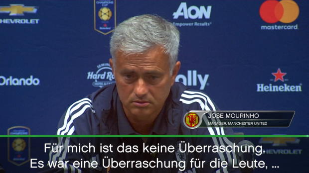 """Mourinho über Guardiola: """"Zusammen geweint"""""""