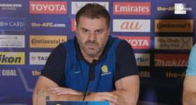 Caltex Socceroos boss Ange Postecoglou says a big home crowd will give his side a lift against UAE.