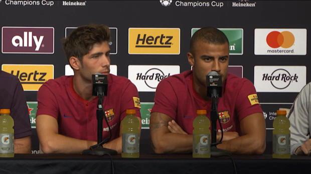 Thiago-Bruder Rafinha über Barca-Zukunft