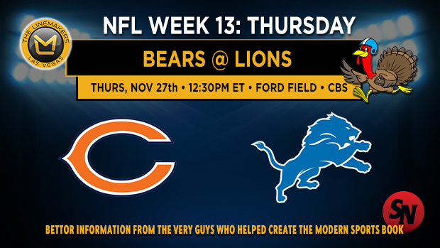 Chicago Bears @ Detroit Lions