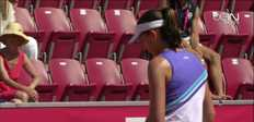 Bastad : Barthel vs Scheepers (6-3, 7-6)