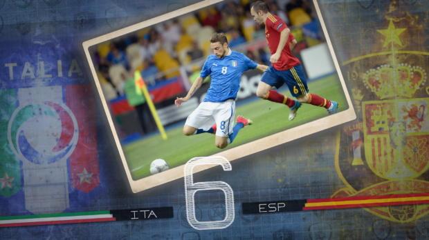 Fakt des Tages: Mal wieder Italien vs. Spanien