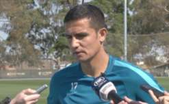 Tim Cahill says he's confident the Caltex Socceroos will secure automatic qualification to the 2018 FIFA World Cup.